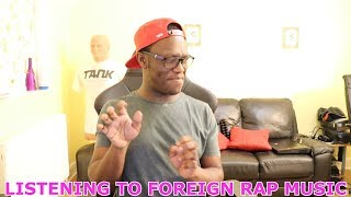 Deji Listens To Foreign Rap Music