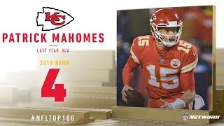 #4: Patrick Mahomes (QB, Chiefs) | Top 100 Players of 2019 | NFL
