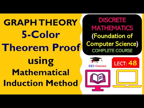 5-Color Theorem Proof using Mathematical Induction Method - Graph Theory Lectures