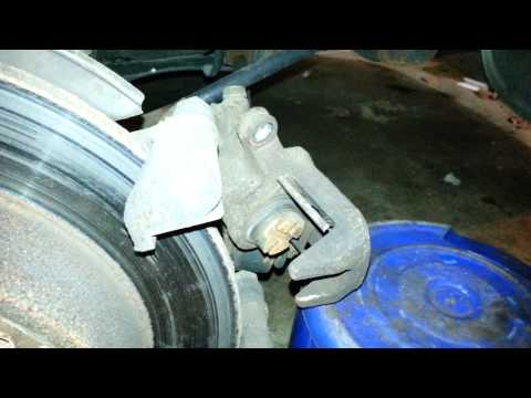 2001 Honda Accord rear brake replacement
