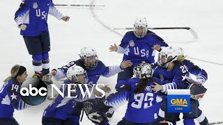 US wins Olympic gold in women