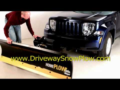 MEYER SNOW PLOW driveway snow plow for trucks and suv