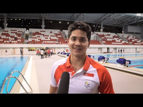 Water Conservation Message from Joseph Schooling