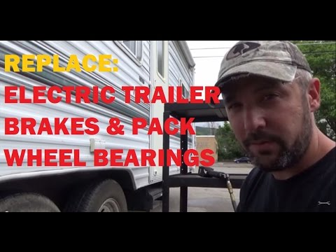 Replace: Electric Trailer Brakes - Part 1