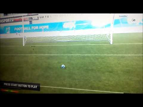 FIFA 12 How to make your player invisible(ONLY ON PS3)