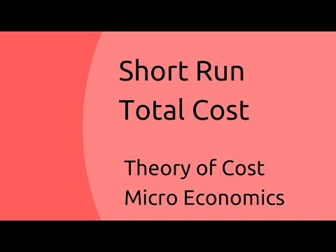 Short run total cost (Fixed Cost, Variable Cost, Semi variable Cost, Step up cost) | Theory of Cost