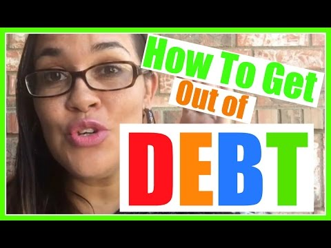 HOW TO GET OUT OF DEBT | DAVE RAMSEY DEBT SNOWBALL | DEBT FREE LIVING