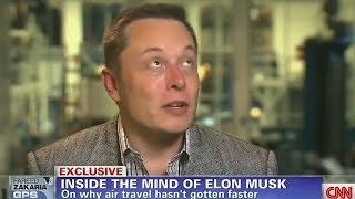 "Elon Musk ""Living on Mars is the Easy Part"""
