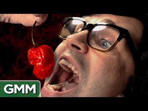 World's Hottest Pepper Challenge - Carolina Reaper