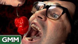 Download World's Hottest Pepper Challenge: Carolina Reaper Video