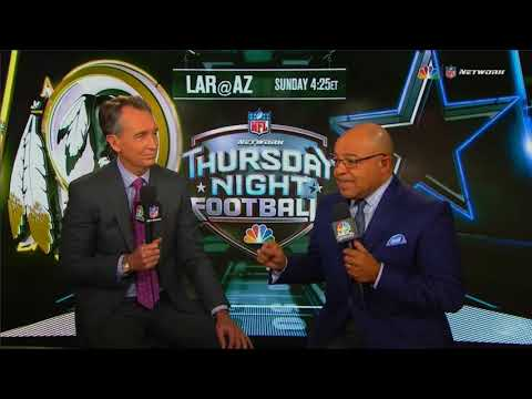 NBC Thursday Night Football intro 2017 WAS@DAL