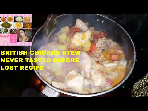 CHICKEN STEW BRITISH STYLE