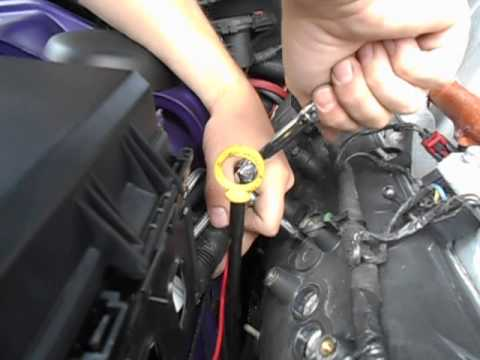 how to change Spark plugs and ignition coils on a 2010 Dodge Challenger SRT8