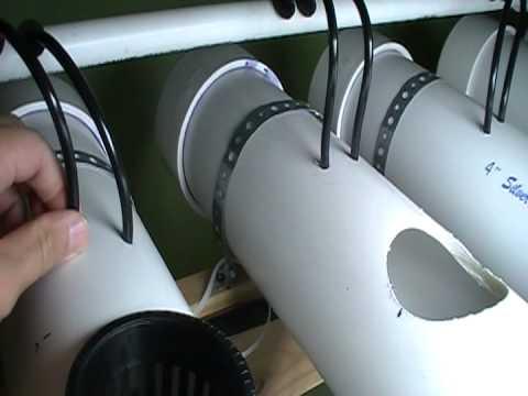Nutrient Film Technique (NFT) Hydroponic System