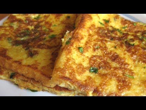 Bread Omelette | Home Made Bread omlet Recipe