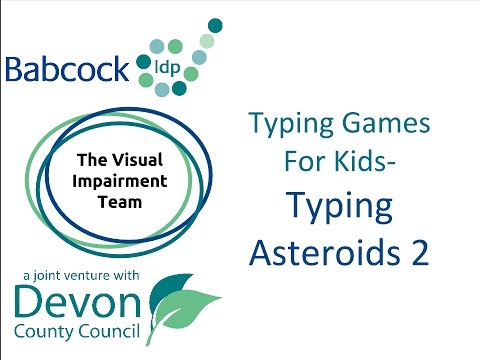 Touch Typing Games- Typing Asteroids 2