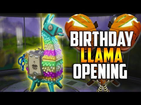 MASSIVE BIRTHDAY LLAMA OPENING! We Got The JACK-O-LAUNCHER