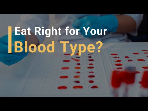Fad Diets: Eat Right For Your Blood Type
