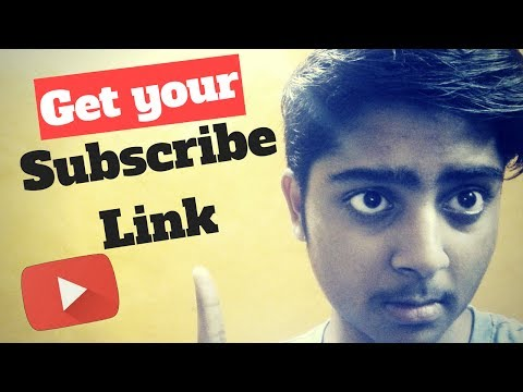 How To Make A Youtube Subscribe Link 2017