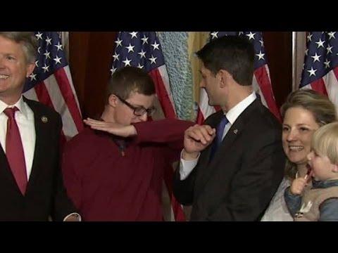 Paul Ryan stops kid from dabbing