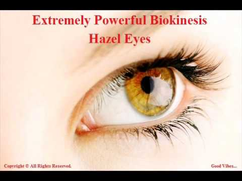 Extremely Powerful Biokinesis 3 Hour - Get Hazel Eyes Subliminal | Change Your Eye Color To Hazel