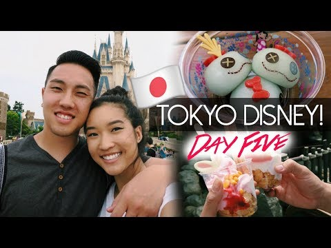 TOKYO DISNEYLAND!   Tokyo Day 5