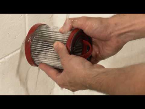 How to Change and Clean Filters for H-2665 Vacuum