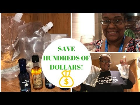 Cruise Runners: How To Successfully Smuggle Alcohol on a Cruise &  a Giveaway! {GIVEAWAY CLOSED}