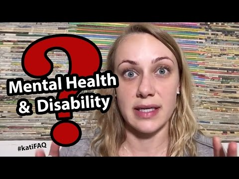 Mental health and disability! Twitter Thursday! #KatiFAQ