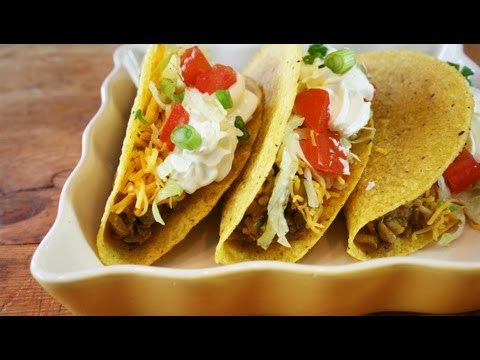Lentil & Brown Rice Tacos recipe