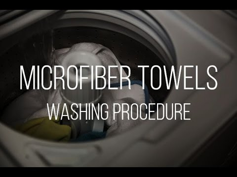My Microfiber Washing Procedure