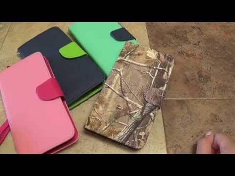 BLU Studio 5.5 Wallet Phone Case Overview By CellCasesUSA