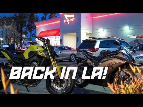 BACK IN LA! Where is my superduke?
