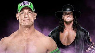 John Cena UNDERTAKER WRESTLEMANIA 34 Breaking News Raw WWE WRESTLING BACKSTAGE