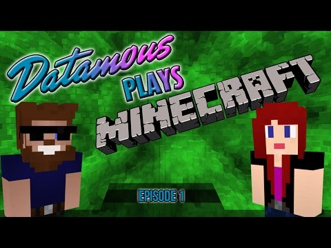 Datamous Plays - Minecraft 1.9 Ep 1 - Jungle Fever!