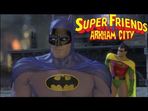 Batman: Arkham City - Superfriends Batman and Robin