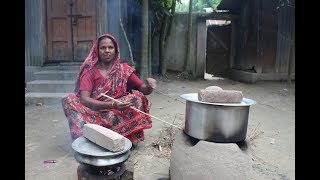 Village Food | Egg pudding especial recipe for Eid | Grandmother recipes-83