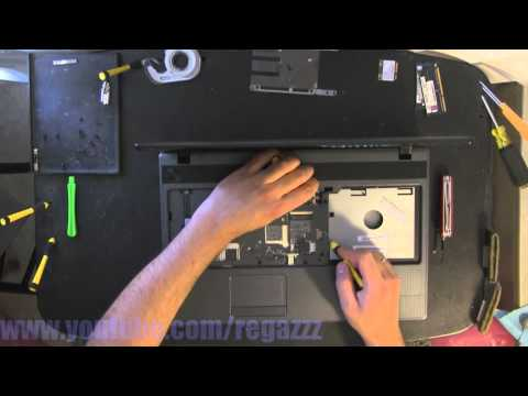 ACER 5250 BZ641 P5WE6 take apart, disassembly, how-to video (nothing left)