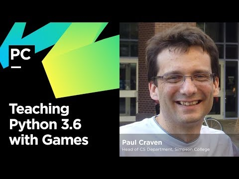 Teaching Python 3 6 with Games