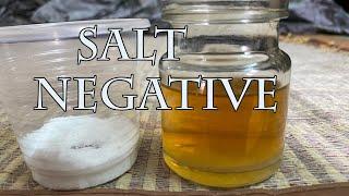 salt pregnancy test positive results