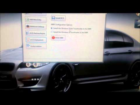 Delete Ubuntu safely and restore Windows 7 MBR using EasyBCD