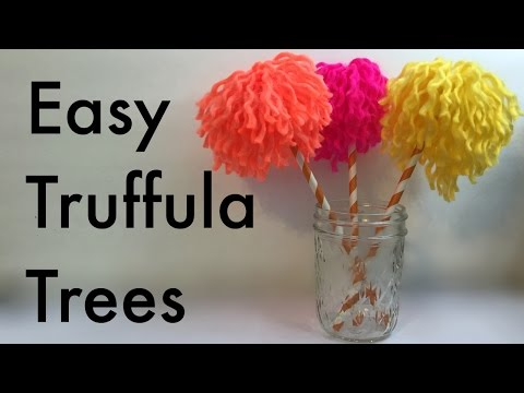 Dr. Seuss Crafts: Make Easy Truffula Trees from The Lorax