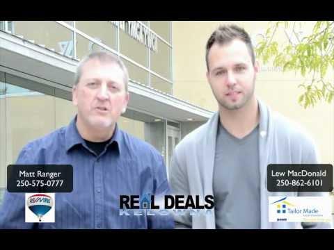 Kelowna Remax Real Deals Kelowna Real Estate with Matt Ranger