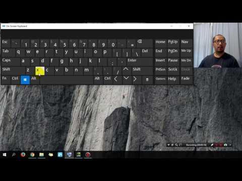 Keyboard Shortcut for shutting down Windows 10