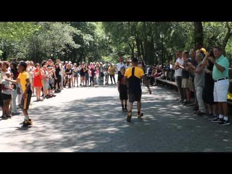 Break Dancers-Central Park Manhattan New York