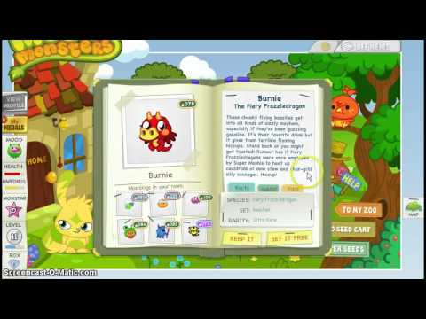How to Get Burnie on Moshi Monsters