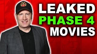 Download LEAKED MARVEL AND AVENGERS Phase 4 Movies REVEALED! Video