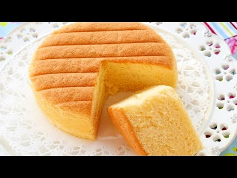 How To Make Super Soft Sponge Cake | Butter Sponge Cake Recipe