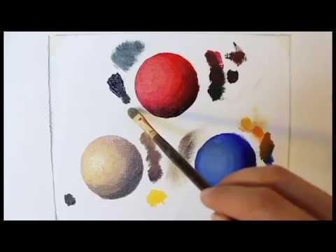 Painting Shadows and Highlights - The Basics