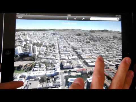 Google Earth 3D on iPad